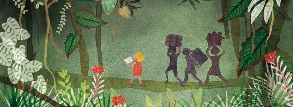 Illustrer la jungle, plongée végétale